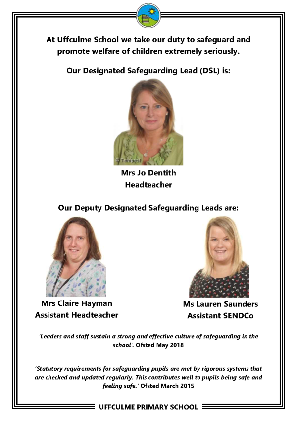 Safeguarding Staff poster