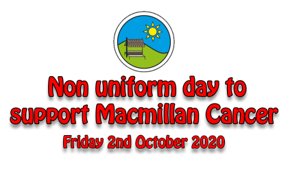 Non uniform day to support Macmillan Cancer